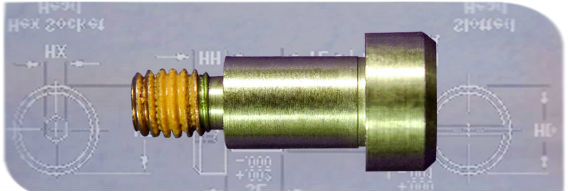 precision shoulder screw